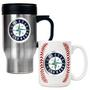 Travel Mug & Gameball Ceramic Mug Set