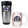 Travel Tumbler & Gameball Ceramic Mug Set