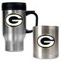 Travel Mug & Can Holder Set
